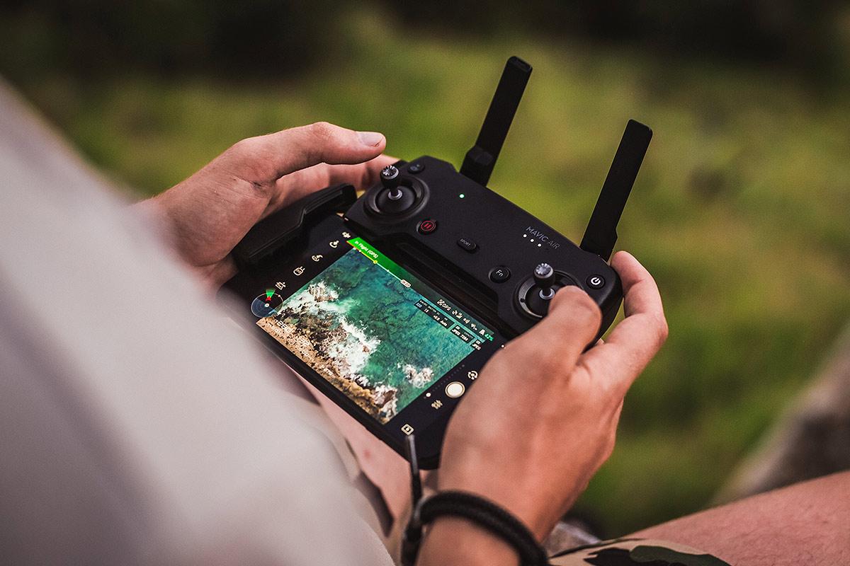 Video and photography with drones
